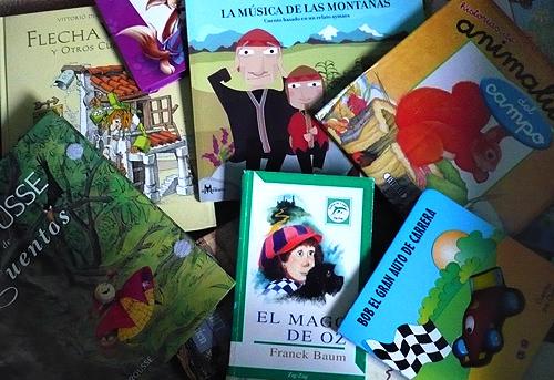 Donación de libros para niños 3
