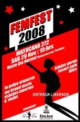 FemFest: bandas de mujeres, gratis en la Quinta Normal 3
