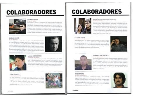 Los colaboradores de Gatopardo 1