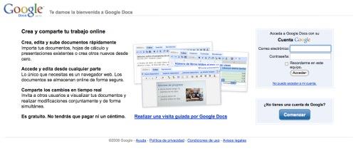 Google Docs: trabajar juntos pero separados 3