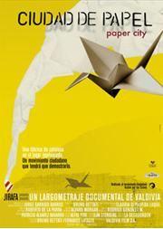 Ciudad De Papel Afiche