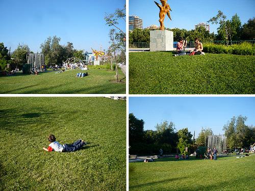 Tarde de reciclaje y diseño en el parque de las esculturas 3