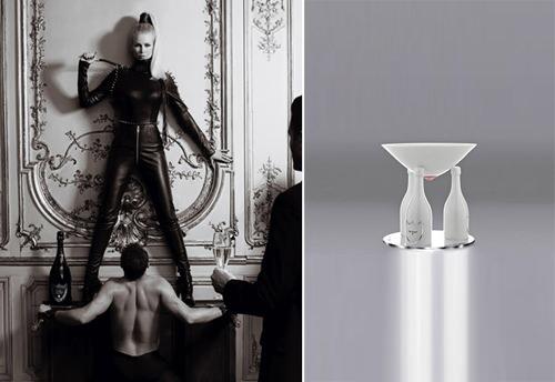 Dom Perignon y los alemanes (Lagerfeld + Schiffer) 3