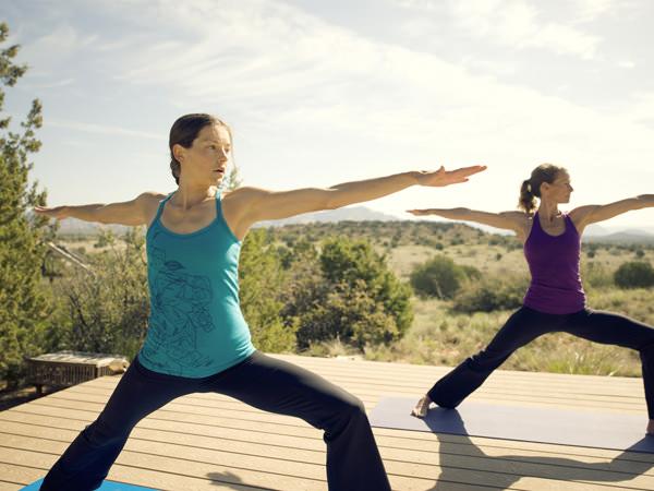 Yoga con The North Face 3