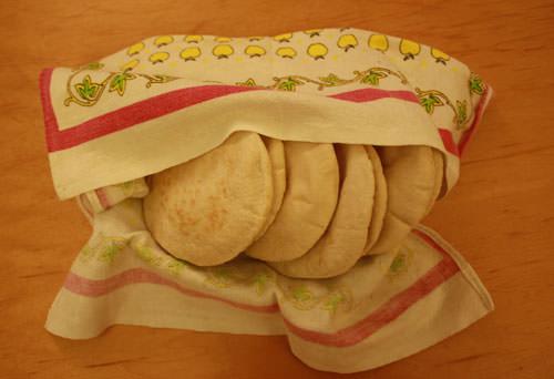 Pan pita integral casero 1