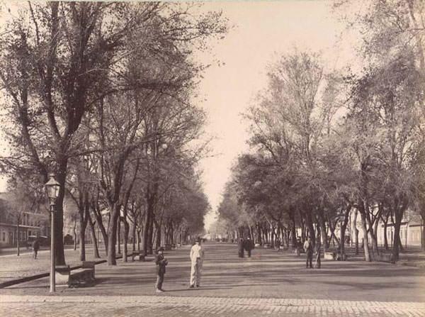 Panorama en la Alameda de las Delicias el Día del Patrimonio 2