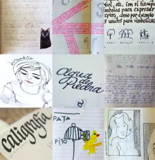 Mi mundo privado en un cuaderno
