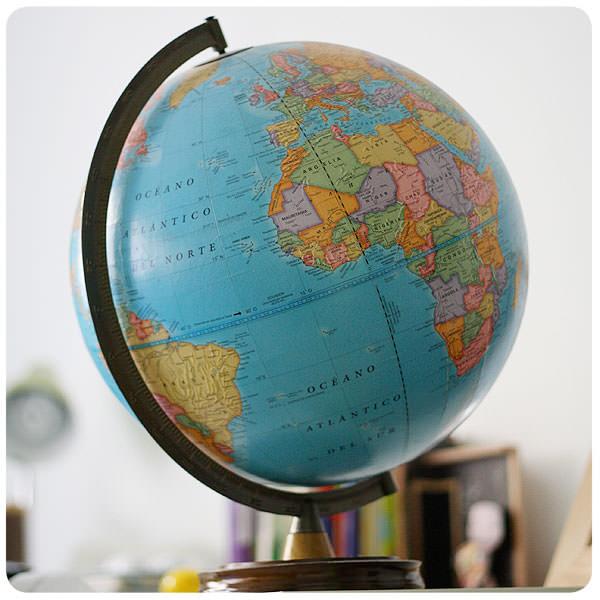 Objeto de deseo: globo terráqueo 3