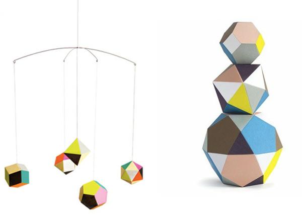 Objeto de deseo: móviles geométricos 3