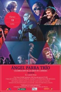 Celebración de los 20 años de Ángel Parra Trío 3