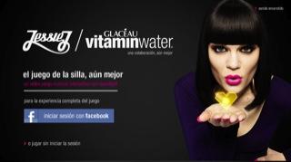 Juego online de Jessie J y GLACÉAU vitaminwater 1