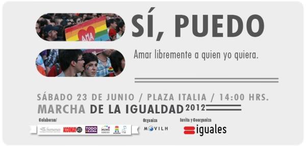23 de junio 2012: Marcha de la igualdad 1