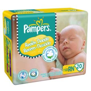 Pampers Recién Nacido con indicador de humedad  3