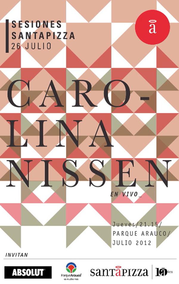 Carolina Nissen en Santa Pizza 3