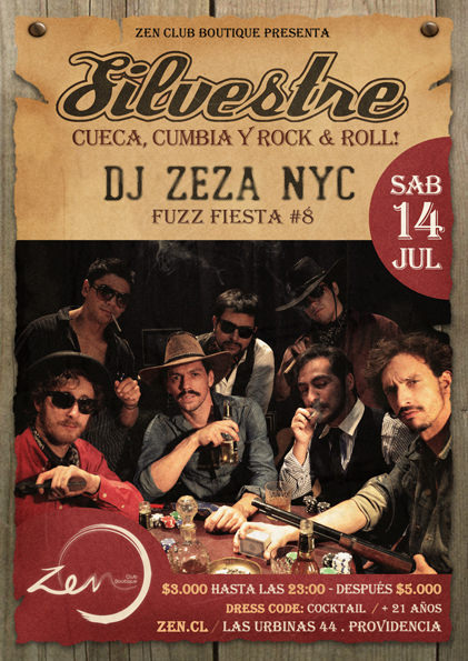 Concurso: Silvestre en vivo en Club Zen 3
