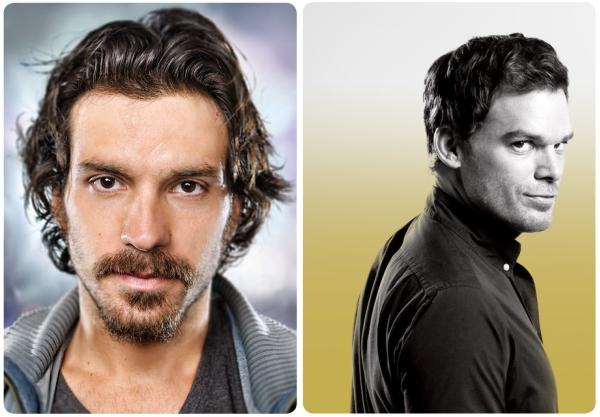 Santiago Cabrera en Dexter  1