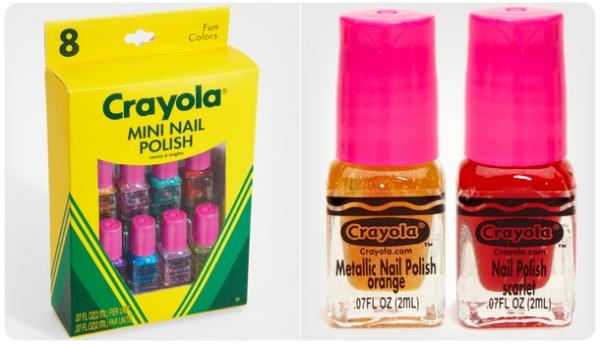 Mini esmaltes de uñas Crayola 3