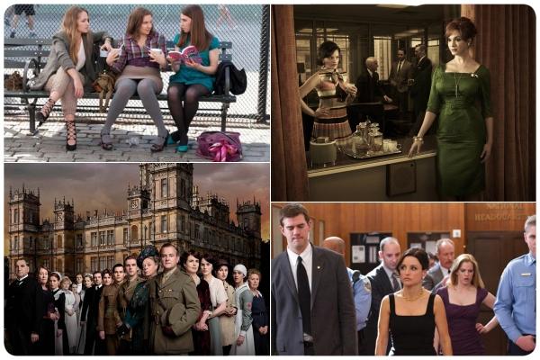 Downton Abbey, Girls y Veep en las nominaciones a los Emmy 3