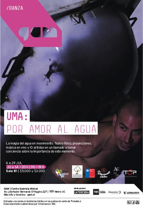 Uma: por amor al agua, danza en el Gam (+ concurso) 1