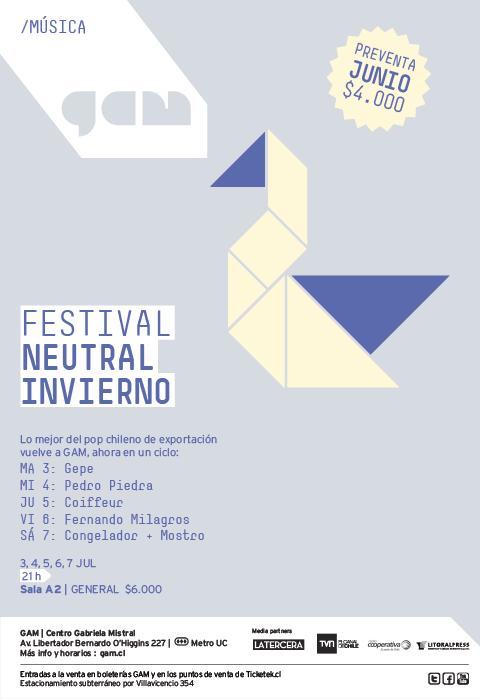 Concurso: entradas para Coiffeur en Festival Neutral 1