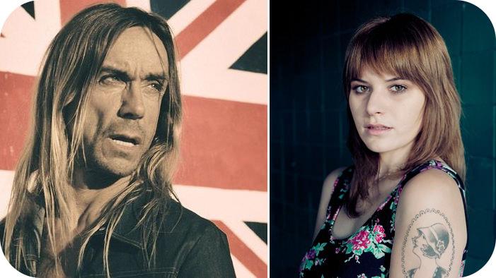 Iggy Pop y Bethany Cosentino para True Blood 3