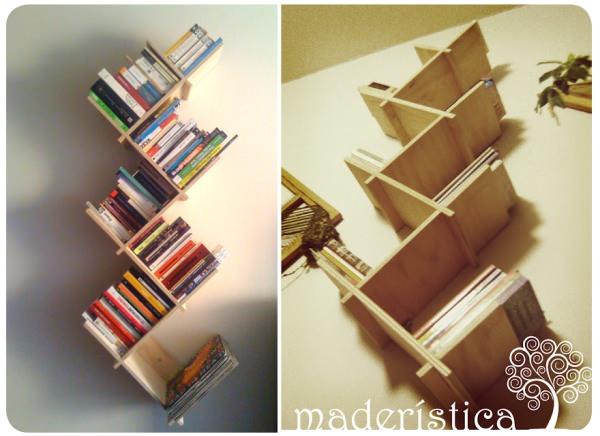 Los hermosos libreros de Maderística 3