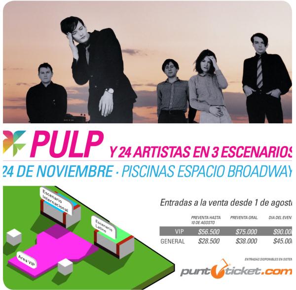 Primavera Fauna 2012: Pulp, Corazones, venta de entradas y horarios 3