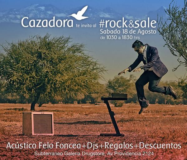 Rock&Sale en Tienda Cazadora 3