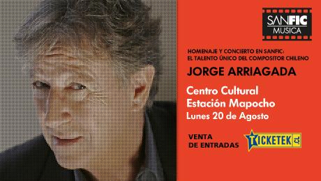 Sanfic Música: concierto homenaje a Jorge Arriagada 3