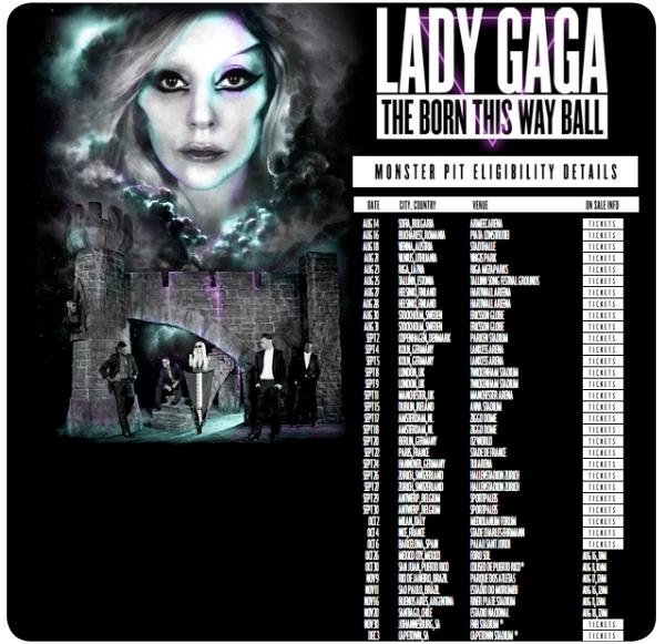 Lady Gaga en Chile el 20 de noviembre: venta de entradas 1