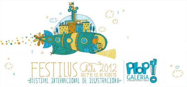 Festilus, el primer festival de ilustración de Chile 1