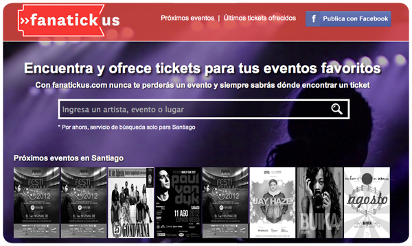 Fanatickus, para comprar y vender entradas a todos los eventos  1