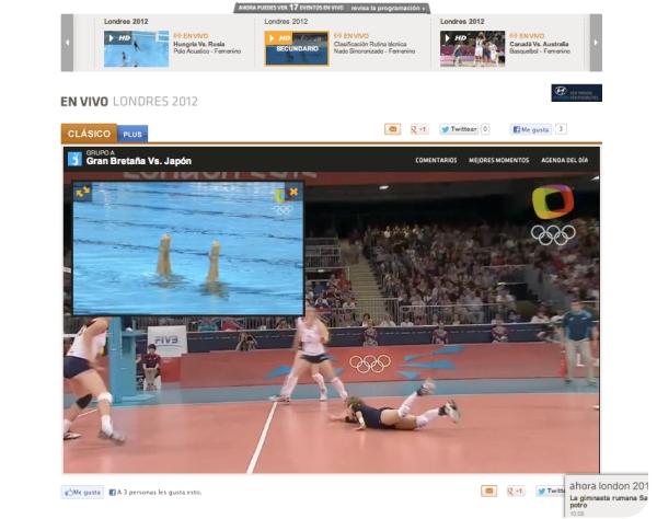 Seguir los Juegos Olímpicos en internet 3