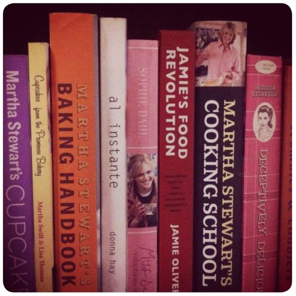 Objeto de deseo: libros de cocina 1