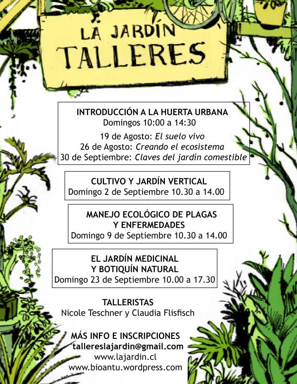 Talleres en La Jardín: huertas urbanas, botiquines naturales y otros 6