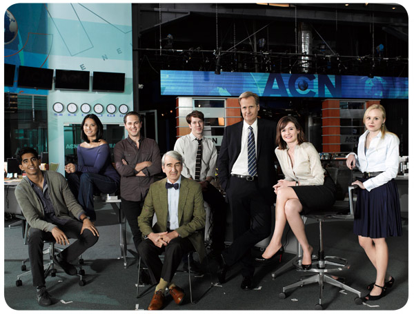 The Newsroom se estrenó en Chile 1