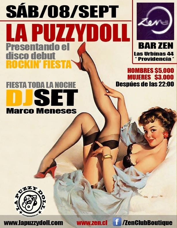 La Puzzydoll en Club Zen 1