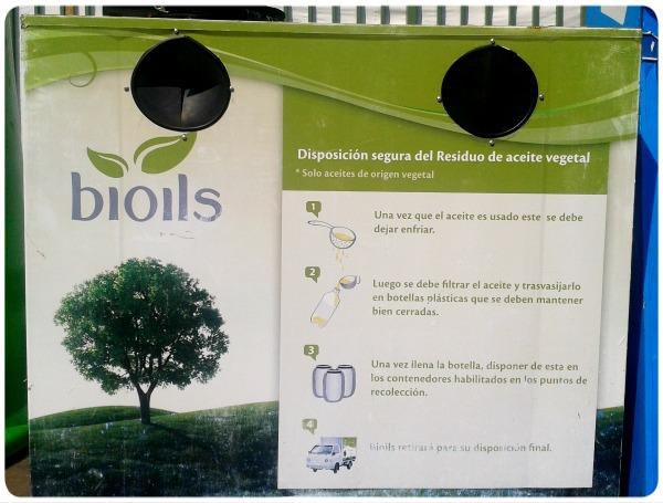 Reciclar el aceite de cocina 3