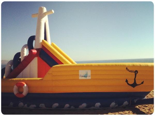 Álbum Zancada: barco plástico 1