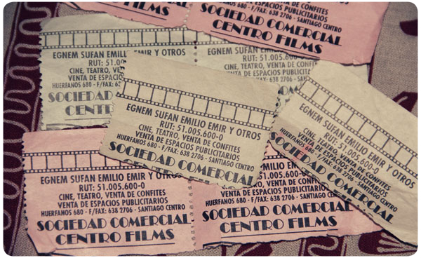 Álbum Zancada: las entradas del Cine Lido 1