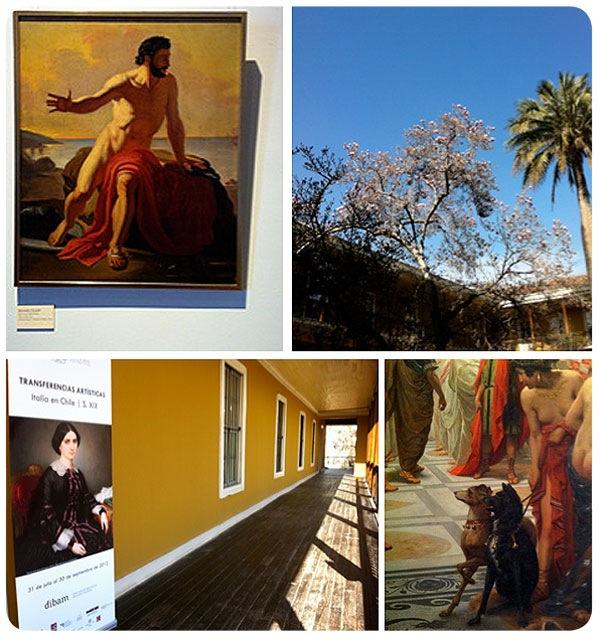 """La expo """"Transferencias artísticas Italia Chile"""", día del patrimonio y septiembre en la Recoleta Dominica 3"""