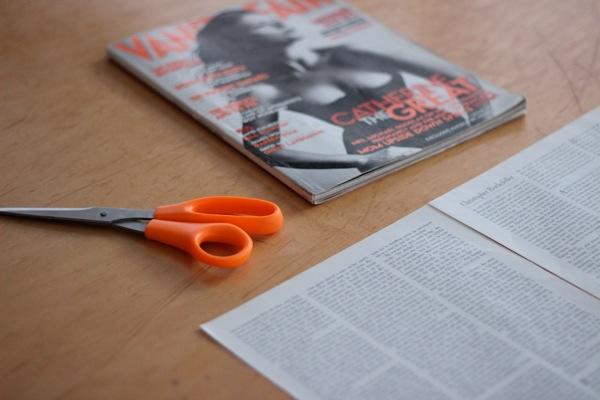 Envolver regalos con revistas 2