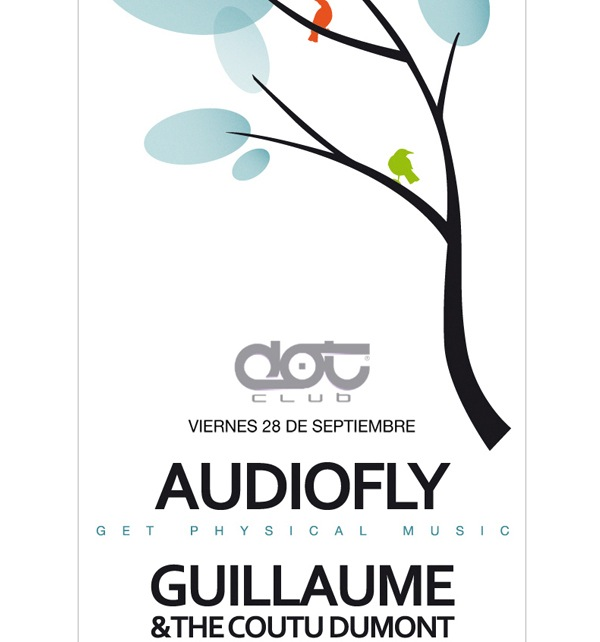 Nueva fiesta Sundeck: Audiofly y Guillaume & The Coutu Dumont  1