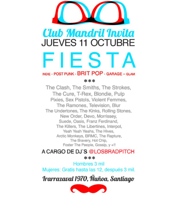 Fiesta en Club mandril 3