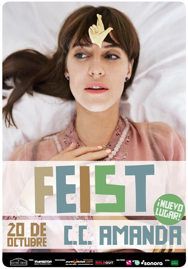 El concierto de Feist se cambia a Centro Cultural Amanda 1