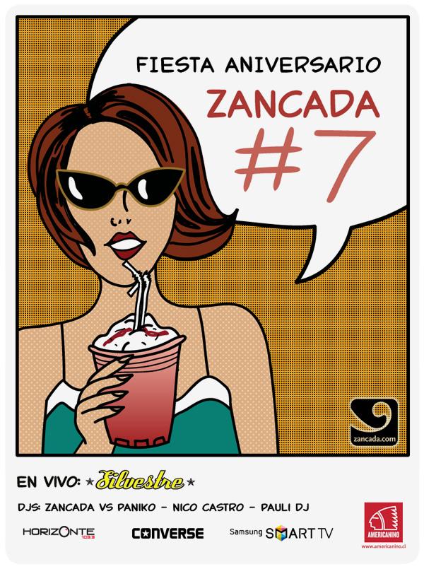 Esta semana es la fiesta Zancada #7! 3
