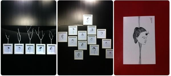 """""""Acerca de personas"""", ilustraciones de Carola Josefa en Pumalab 1"""