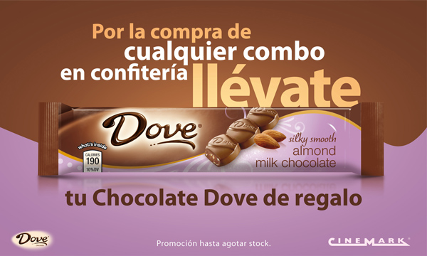 Chocolate Dove y Cinemark en el día del cine 3