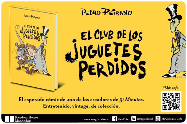 El club de los juguetes perdidos, el nuevo cómic de Pedro Peirano 1