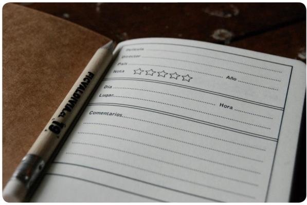 Una agenda para películas 3